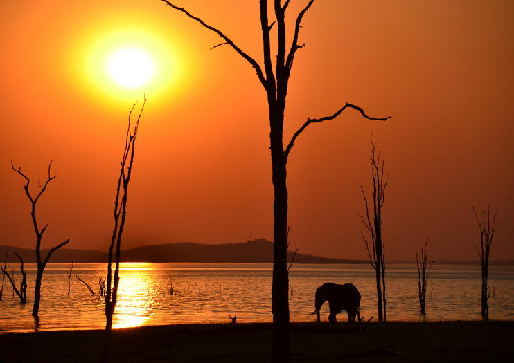 A beautiful view of Lake Kariba