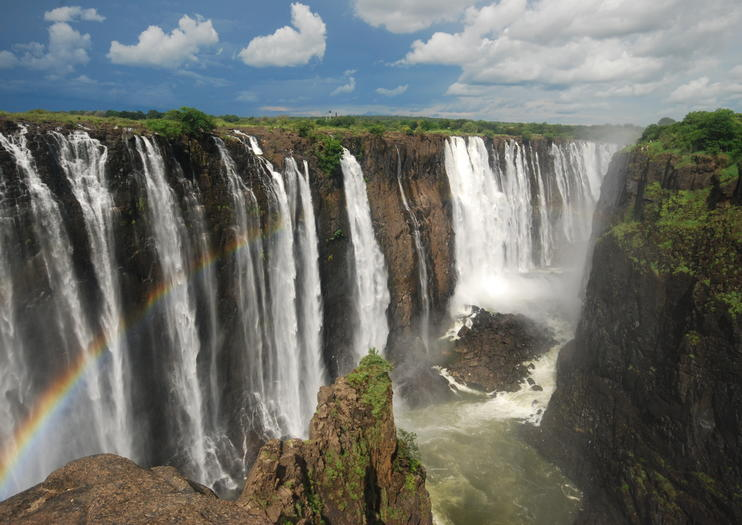 Victoria Falls - One of the Natural Wonders of the World. Ranks #1 one 10 best things to do in Zimbabwe