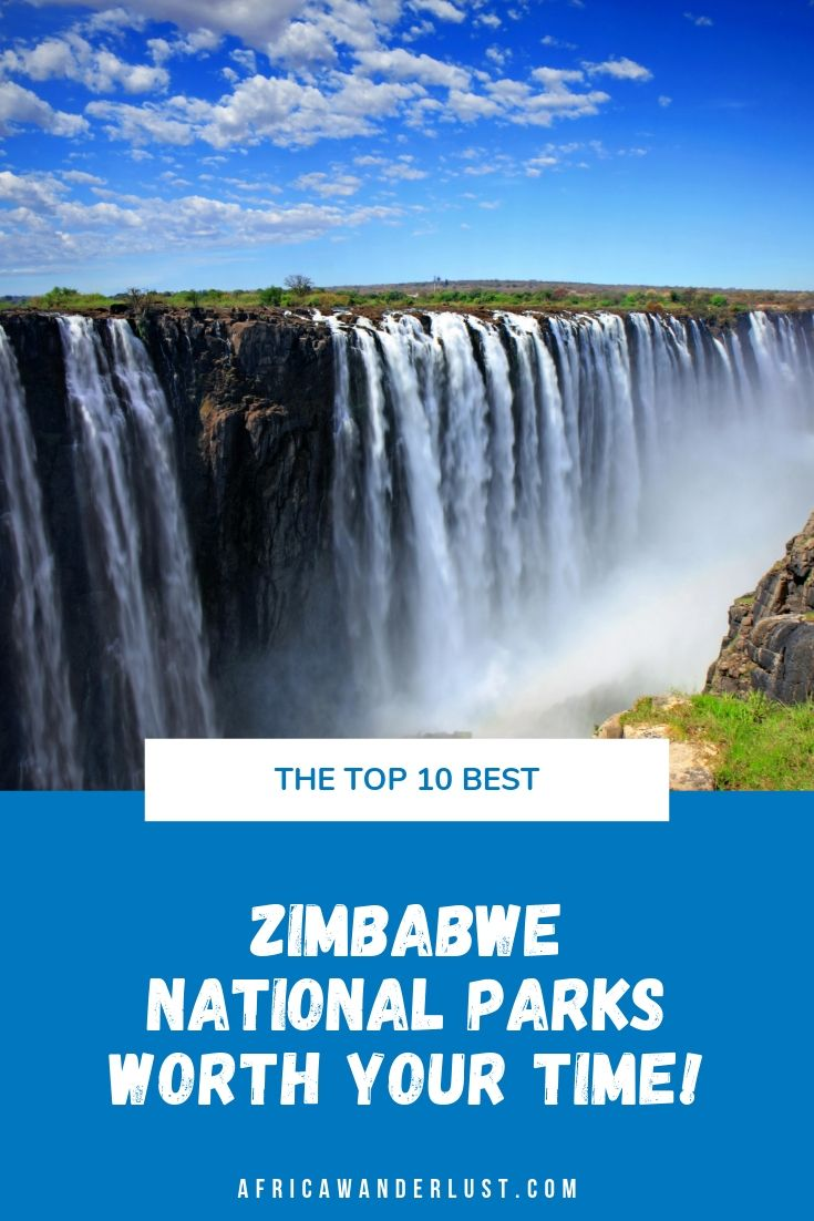 An epic roundup of the best National Parks in Zimbabwe worth a visit. From Victoria Falls National Park and Hwange National Park to Mana Pool, Matobo, and Nyanga National Parks. The scenic views and prolific wildlife will knock your breath away.