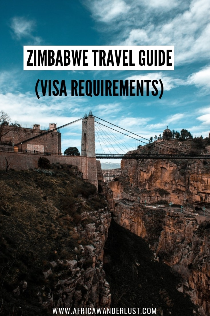 Not sure whether you need a Zimbabwe Visa? This is everything you need to know about Zimbabwe visa requirements, eVisa, and application process.