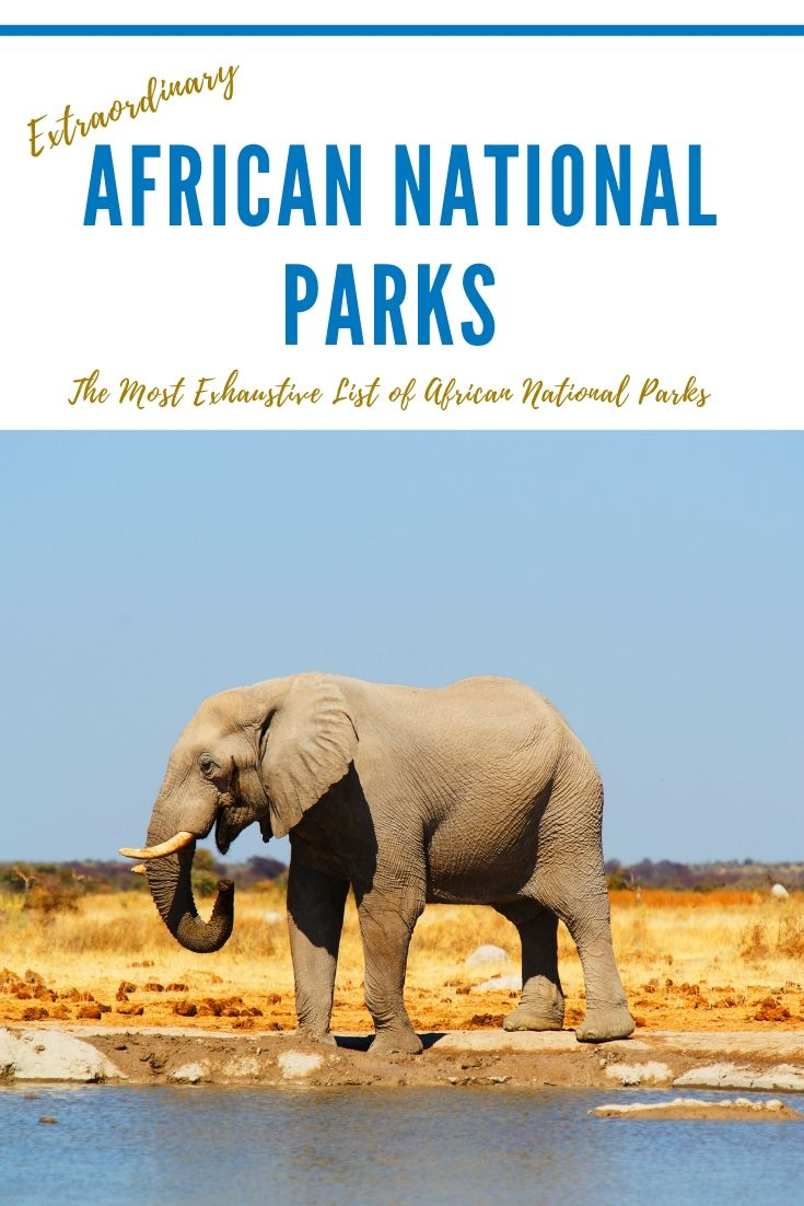 National Parks in African