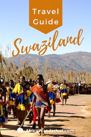 Pin this Swaziland Travel Guide for later