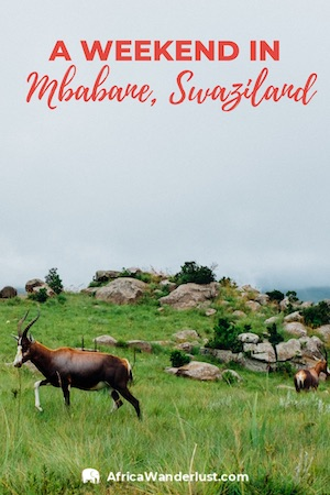 A Weekend in Mbabane, Swaziland