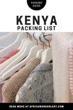 Not sure what to pack for your epic African adventure? Our essential Kenya packing list has you absolutely covered, from backpacks and travel clothes to what to wear on safari and the overland gear you simply can't forget. Kenya Safari Packing List   What to Wear in Kenya   Africa travel   Africa fashion   Africa packing list   Africa safari fashion   Africa travel outfit   travel essentials   safari gear packing list #kenya #packingtips #packingguide #africadestinations #african #africansafari