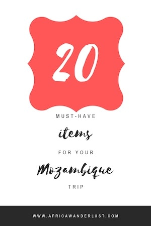 If you're in need of a packing list for Mozambique, Africa, whether it is for an overland safari, mission trip, or just traveling around here is the ultimate Mozambique packing list. #mozambique #africatraveloutfit #packingtips #packingguide #africatravel #africadestinations #traveldestinations #bucketlist #adventuretravel #travelguide #travelhacks #african #africansafari #africasafari #africafashionoutfits #solotravel #solofemaletravel #solotraveltips