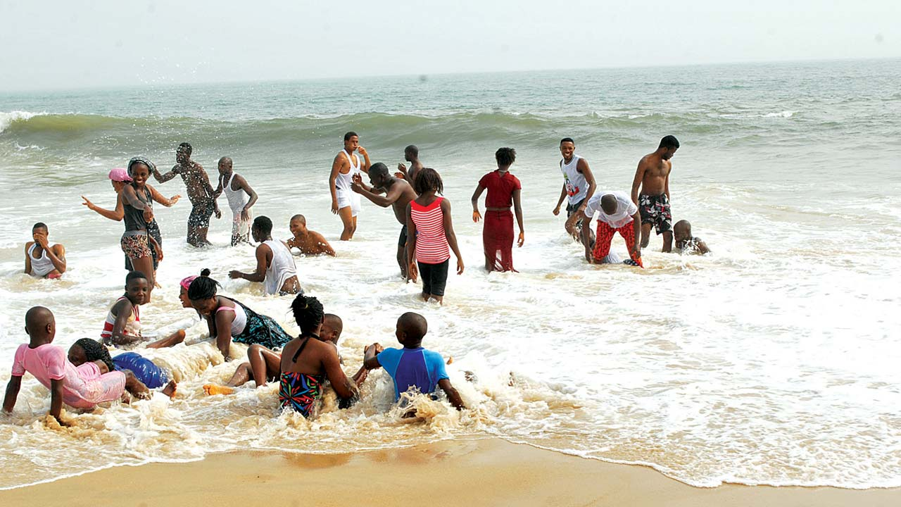 Beach in Lagos